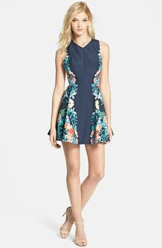 Keepsake the Label 'Second Chance' Print Dress available at #Nordstrom