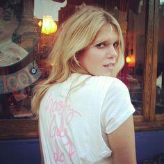 Alexandra Richards in the Nasty Gals Do It Better Tee #nastygalsdoitbetter