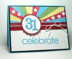Deb's Card Buffet: 31st Birthday