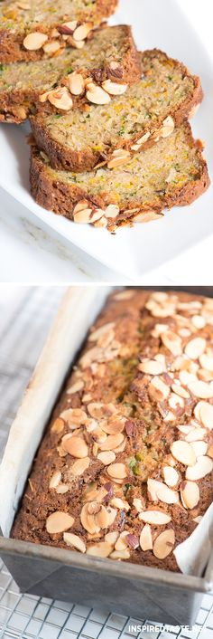 This Zucchini Bread is very moist, tender and perfect sliced and enjoyed plain, with a little butter or, for something more substantial, topped with cream cheese or nut butter. Coffe Recipes, Breakfast Recipes, Dessert Recipes, Muffin Recipes, Easy Zucchini Bread, Zucchini Banana, Quick Bread, Banana Bread, Fall Recipes