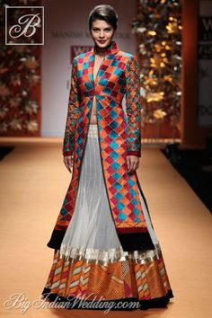 The pretty #Jacqueline #Fernandez for Manish Malhotra