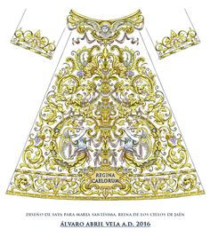 Gold Embroidery, Embroidery Dress, Embroidery Patterns, Gold Work, Textiles, Beads, Needlepoint, Crochet, Drawings