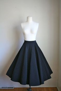 I'm making one with Batik. It's happening. Basic black circle skirt