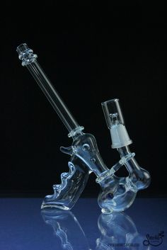 GlasseX Laser Pistol Dab Rig Glass Pipes And Bongs, Glass Bongs, Buy Bong, Hookah Pipes, Cool Bongs, Online Head Shop, Dab Rig, Hand Pipes, Weed