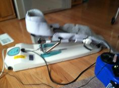 knee replacement therapy machine