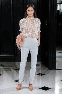 Huishan Zhang SS15 Ready to Wear - London Fashion Week