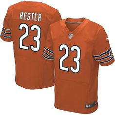 Men s Nike Chicago Bears  23 Devin Hester Limited Alternate Orange Jersey   69.99 ccfb7e130