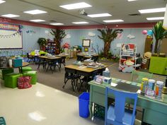 This Enchanted Forest Classroom is BEAUTIFUL!