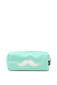 <p>This faux leather pencil case is the perfect mate for your Buffalo Journal or diary. Embroidered moustache detail on the front of the case with a zipper opening. At 18cm long it is the ideal size for pens, pencils highlighters and 15cm rulers.</p>