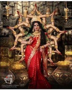 Goddess Lakshmi or Mahalakshmi is the consort of Mahavishnu, the Preserver. She is the resplendent goddess of wealth and prosperity who… Kali Shiva, Kali Hindu, Kali Mata, Shiva Shakti, Maa Durga Image, Durga Maa, Lord Durga, Hanuman, Lord Shiva