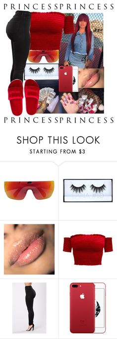 """""""✨"""" by queenag123 ❤ liked on Polyvore featuring beauty, CÉLINE, Huda Beauty and Ivy Park"""