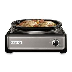 Crock Pot® Hook Up™ Slow Cooker Connectable Entertaining System In Charcoal