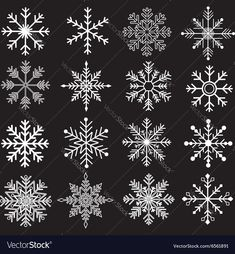The vector for Chalkboard Snowflakes Silhouette. Download a Free Preview or High Quality Adobe Illustrator Ai, EPS, PDF and High Resolution JPEG versions.