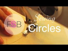 Sew a perfect circle - Andrea's Notebook