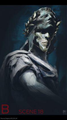 ArtStation - Dracula Untold Concept Art, sam rowan