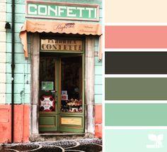 Confetti hues