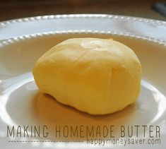 Happy Homesteading: Making Homemade Butter