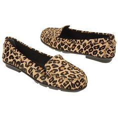 leopard driving shoe