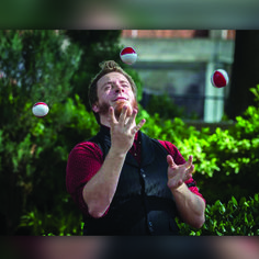 Here we see Cosmo, he has such a look of joy on his face to be juggling in the sun at the street festival... It just makes me happy looking at this photo.. You know what, think of going to go outside now and juggle see you all a bit...  #juggling #outside #smile #peaceful #TheImperialOPA #Circus #Atlanta #OPA #AtlantaCircus ------------- #1 rated entertainment booking company in GA!   Contact us today and lets make unforgettable events together!