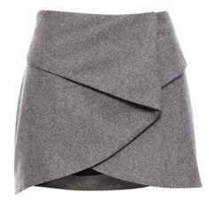 Faldas cortas cruzadas 1