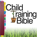 The Child Training Bible is tool that allows parents and children (and anyone that loves the Word of God) to go directly to the pages of Scripture for instruction in 20 key areas with a complete section dedicated to the gospel.