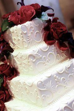 cake...like the colors too
