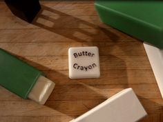 Best kitchen gadget idea ever! I hate dealing with the butter wrapper and I've seen their prototype first hand: pure genius. Butter Crayon - A kitchen gadget for better buttering by Lauren Chouinard — Kickstarter