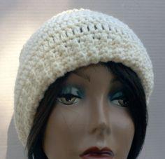 Crochet Winter White Hat/Beanie, Crochet White Hat/Beanie/Crochet Hat #bestofEtsy #design