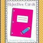 These colorful cards are used to pair with your written objectives. Included in this pack are cards for: Math, Science, Phonics, Reading, Social St...