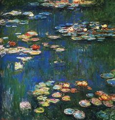 Картинки по запросу моне кувшинки титаник Water Lillies Monet db9c2c4eb7bc3