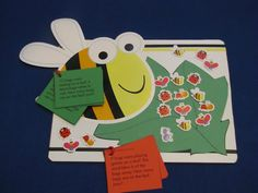 Bumble Bee Math! Tommie walks you through a quick math game using a small magnet board and CTP's designer cut-outs.