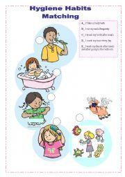 English teaching worksheets: Hygiene
