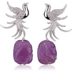 MICHELA BRUNI REICHLIN Phoenix Earrings