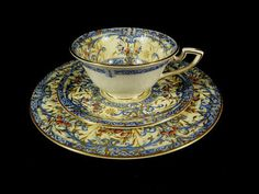 Royal Worcester cup, saucer and plate