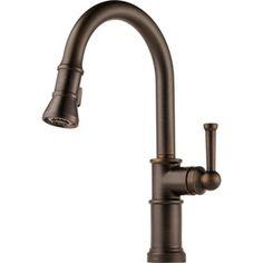 D64025LFRB Artesso Pull-Out Spray Kitchen Faucet - Venetian Bronze Kitchen sink faucet