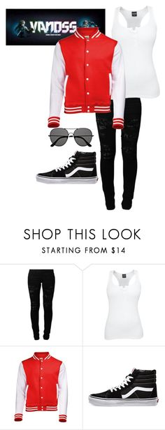 """""""Vanossgaming outfit"""" by botdfbvblover ❤ liked on Polyvore featuring Vero Moda, Vans, The Row, Youtuber and VanossGaming"""