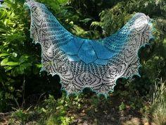 Under the Canopy Lace Shawl: Beaded Kits, Earthfaire Bead Kits, Knitting Kits, Canopy, Shawl, Lace, Outdoor Decor, Canopies