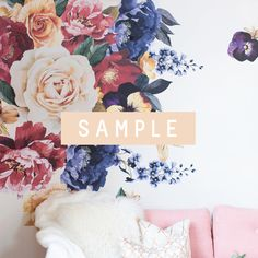 SAMPLE ** Vintage Floral