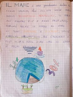 "Ambienti geografici ""il mare"" (14) Bullet Journal, 3, Education, Blog, Georgia, Anna, Alphabet, Cousins, Teachers"