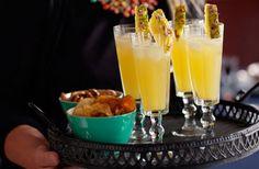 Drink med ananas och päron