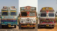 Pimp My Ride: The Psychedelic World of Indian Truck Art - Shop Latitude
