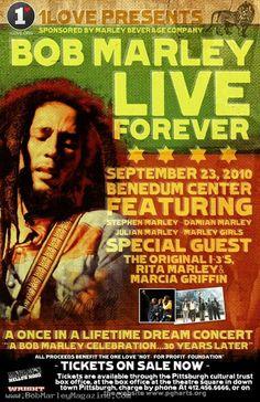 Bob Marley Live Forever