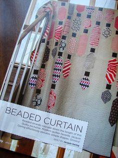 tallgrass prairie studio: Blast from the Past - Beaded Curtain