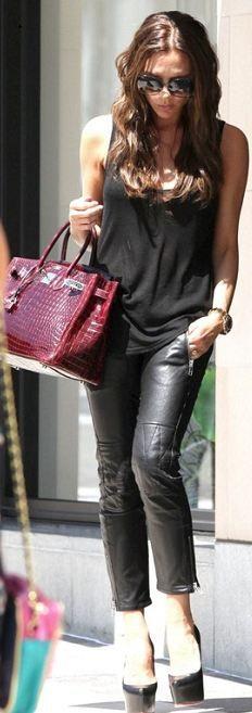 Pants - Isabel Marant Shoes - Christian Louboutin Purse - Hermes