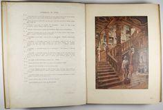 Full page color plate from INTÉRIEURS DE STYLE. XVII & XVIII SIÈCLES - DIRECTOIRE - EMPIRE. SOIXANTE PLANCHES REPRODUISANT EN FAC-SIMILÉ LES AQUARELLES DE L'AUTEUR GEORGES RÉMON, ARCHITECTE DÉCORATEUR. by RÉMON, GEORGES.