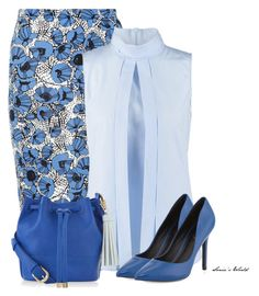 """Blues 2"" by sonies-world ❤ liked on Polyvore featuring Alice & You, VAN LAACK, Charles by Charles David and Accessorize"