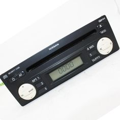NISSAN MICRA Mk3 K12 car radio with cd 7643349318 / 28185AX613 HP-3123 2002-2010 #Blaupunkt