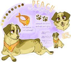 commission: peach by BabyWolverines.deviantart.com on @DeviantArt