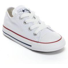 scarpe bimba converse bianche