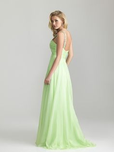 Beautiful floating chiffon gown by Night Moves.